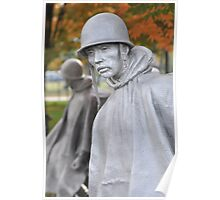 Korean Memorial - Washington D C  Plate #010 Poster