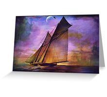 -America's Cup 1891 Greeting Card
