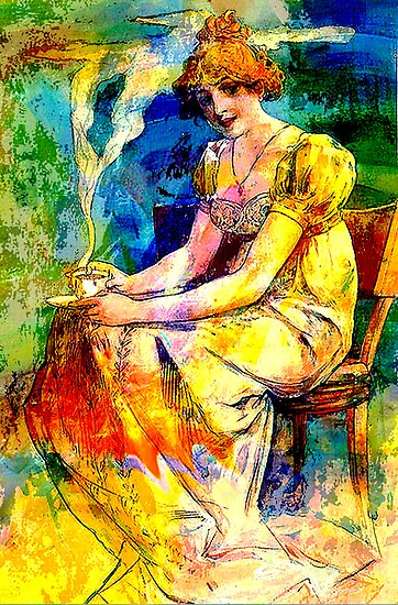 DEDICATION ~ MUCHA ETERNAL THROUGH HIS WORKS 4 by Tammera