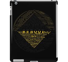 ReBoot Typography iPad Case/Skin