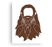 Gloin's Beard Canvas Print
