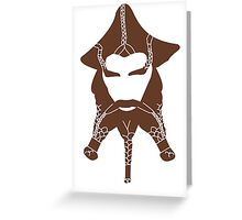 Nori's Beard Greeting Card