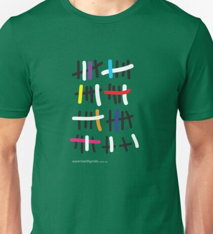 T-Shirt 41/85 (Relationships) by 3Robins T-Shirt  Unisex T-Shirt