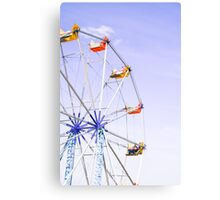 Colourful Ferris Wheel Canvas Print
