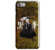 Black Butler - Undertaker iPhone Case/Skin