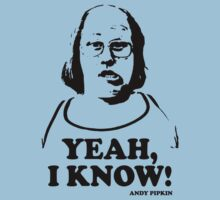 Yeah I Know Andy Pipkin Little Britain T Shirt by theshirtnerd