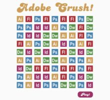 Adobe Crush! Kids Tee