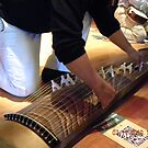 Large Japanese Stringed Instrument by Sandra Gray