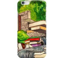 Falling Books iPhone Case/Skin