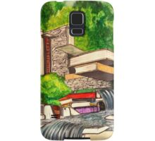 Falling Books Samsung Galaxy Case/Skin