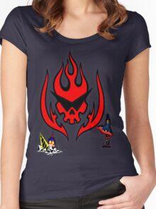 Gurren Lagann Colored Women's Fitted Scoop T-Shirt