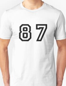 Number Eighty Seven T-Shirt