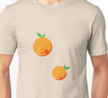 Bubbly Orange Unisex T-Shirt
