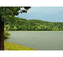Stormy Lake Wappepello Photographic Print