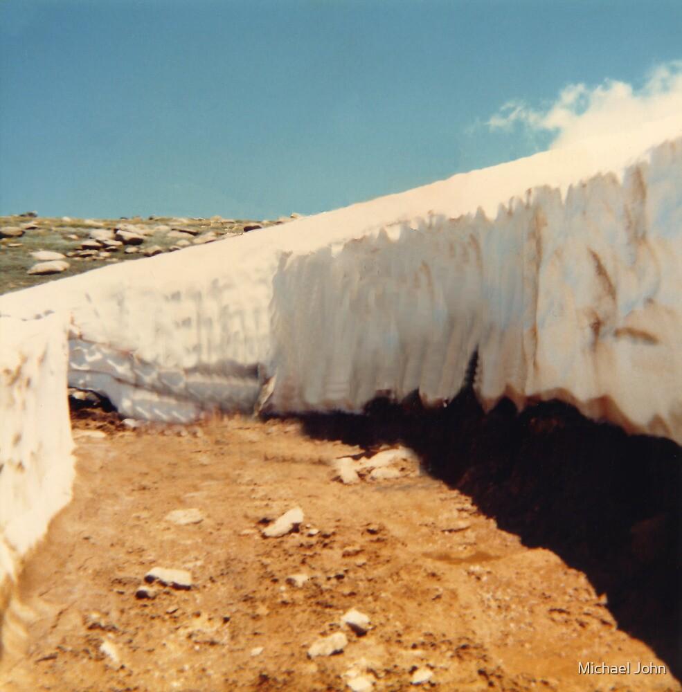 Snowy Pathway by Michael John