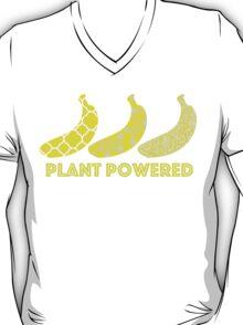 'Plant Powered' Vegan Banana Design T-Shirt
