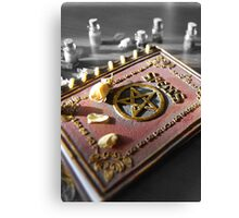 photography Book of Spells  Canvas Print