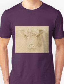 Portrait of a Highland Cow Unisex T-Shirt