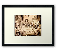 You're Nothing but a Pack of Cards! Framed Print