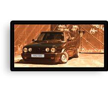 VW Golf G60 Canvas Print