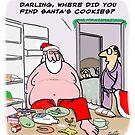 Santa's Cookies by David Stuart