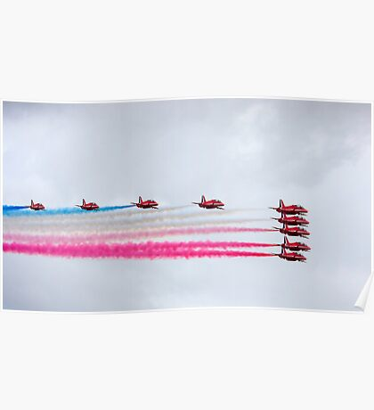 Red arrows 2010 a Poster