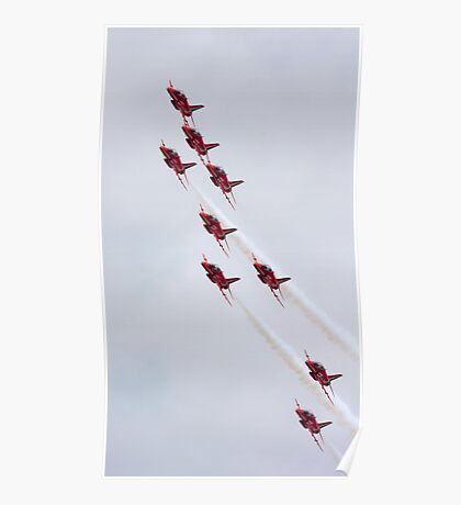 Red Arrows 2010 c Poster