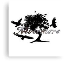 Poe Nevermore Canvas Print