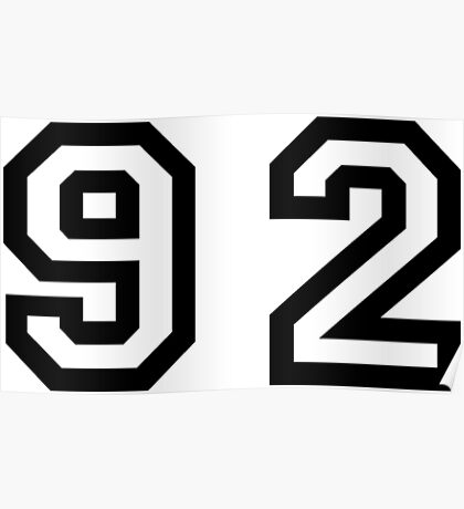 Number Ninety Two Poster