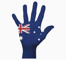 Australia Hand Flag Kids Tee