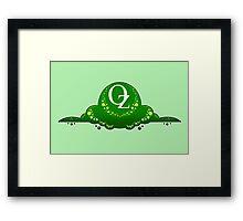 The Land of Oz Framed Print
