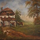 The Farm House by Birgit Schnapp
