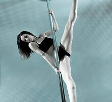 Pole Art  - Aqua by hannahelizabeth