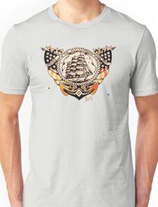 Tattoo Ship Unisex T-Shirt