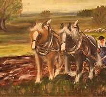 Working Horses  by Birgit Schnapp