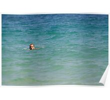 Mediterranea sea view Poster