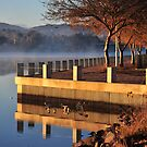 Tuggeranong light by Bryan Cossart