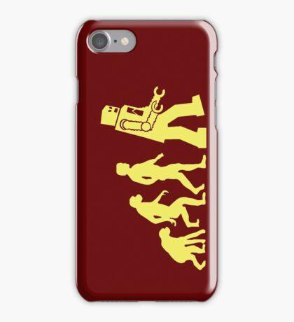 Sheldon Robot Evolution iPhone Case/Skin