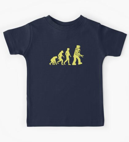 Sheldon Robot Evolution Kids Tee