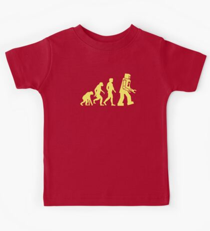 Sheldon Robot Evolution Kids Tee