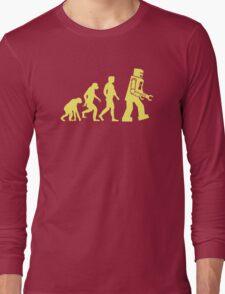 Sheldon Robot Evolution Long Sleeve T-Shirt