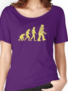 Sheldon Robot Evolution Women's Relaxed Fit T-Shirt