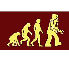 Sheldon Robot Evolution Photographic Print