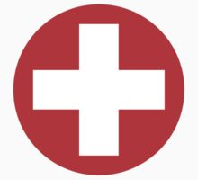 Swiss Roundel by vintage-shirts