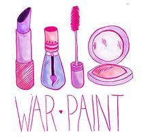 War Paint by bittenteacup