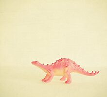 Pink Dinosaur by Cassia Beck