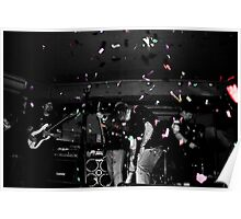 Metalphetamine Last gig Confetti Poster