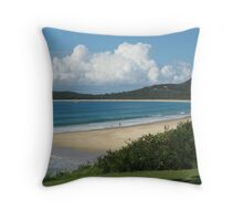 Clouds Over Trial Bay, South West Rocks. Throw Pillow