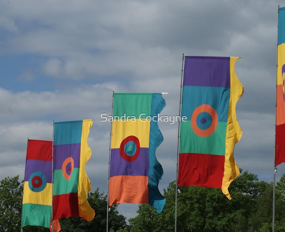 Flags #2 by Sandra Cockayne