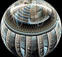 Spherical Library by Leoni Mullett
